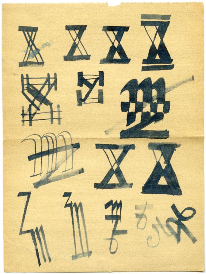 inicjaly-zb-makowski-szkice-wczesne-lata-50-ASP